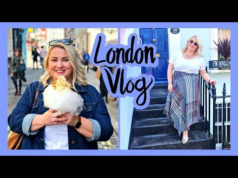 London Vlog - UK Plus size fashion week, Portabello Road, Grand Designs Live and MORE!!!