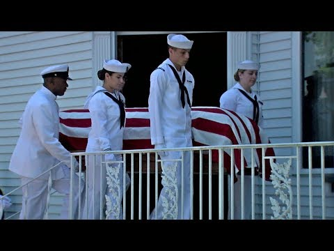 World War II sailor to be buried 75 years after being killed in action
