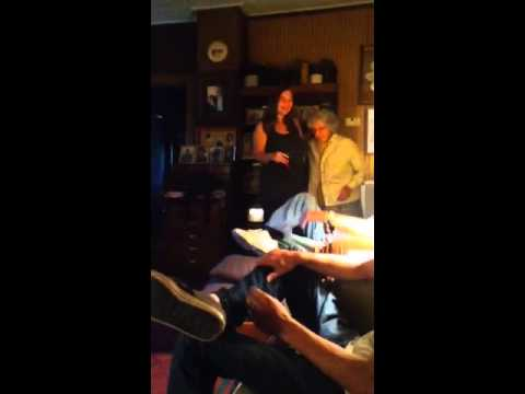 My Sweet Grandparents' Reaction to Seeing the Ultrasound Picture