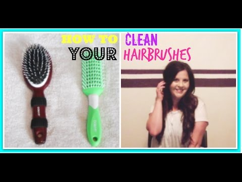 How to Clean your Hair Brushes 2016 |JoelinelifeVlogs