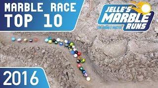 TOP 10 Marble Racing Videos 2016
