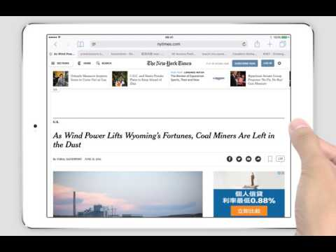 PDF Markup iPad Tutorial - Highlight Web Pages Using Safari