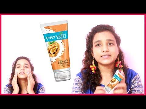 Exfoliating Walnut Scrub For Remove Blackheads, Clear & Beautiful Skin - गोरी, बेदाग त्वचा