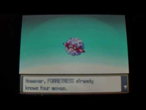 How to get Forretress - Pokemon Heart Gold and Soul Silver