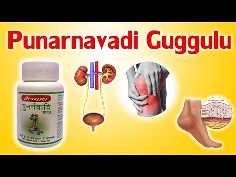 Punarnavadi Guggulu - सभी प्रकार के मूत्र, जोड़ों का दर्द और नसों के दर्द को दर्द से खत्म करें।