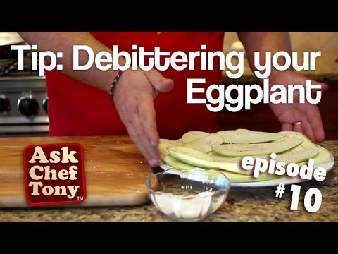 Preparing ( debittering ) Eggplant, a Quick and Easy Way, How to, Episode 10