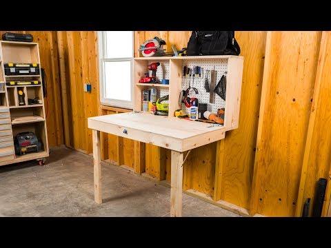 DIY Fold-Up Workbench - Saturday Morning Workshop