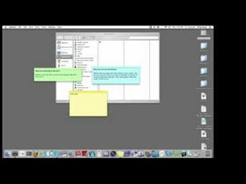 Mac Set-Up & Troubleshooting Tips : How to Use Sticky Notes on a Mac