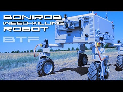 BoniRob - Weed Killing Robot - Behold The Future