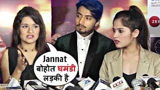 Jannat Zubair And Avneet Kaur FIGHT Continues In Front Of Mr Faisu!