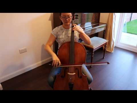 Bach Prelude Suite 1 - Adult Beginner Cello 19 months