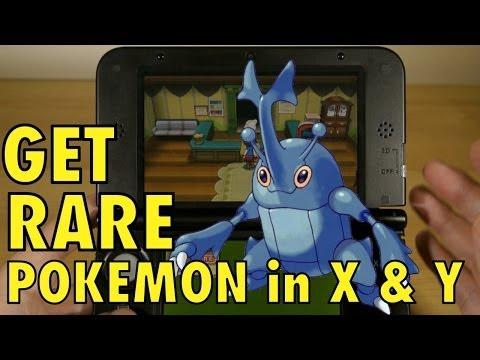Pokemon X and Y, Catch RARE Pokemon with Friend Codes & Safari Zone