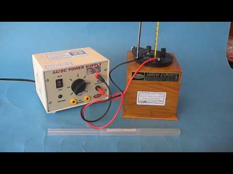 video physics study specific heat of liquid by jouls calorimeter with power supply by abronexports