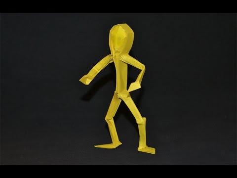 Origami: Human Figure (Claudio Acuña J)