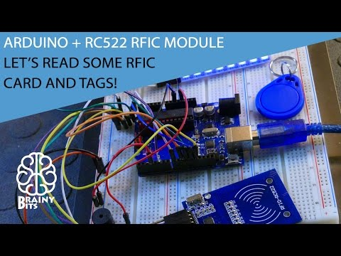 How to use the RC522 RFID module with an Arduino - Tutorial