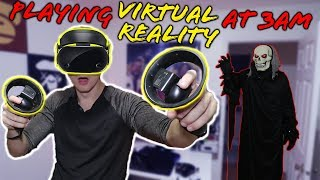 Download *SCARY* DO NOT PLAY VIRTUAL REALITY AT 3 AM!! (SOMETHING IS WATCHING ME) Video