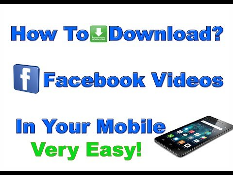 How to Download Facebook HD Videos || In your Mobile || Very Easy ||