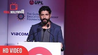 Farhan Akhtar Speech At Global Citizen India   Viralbollywood
