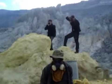 Le Volcan Kawah Ijen - Java-Est - Indonésie