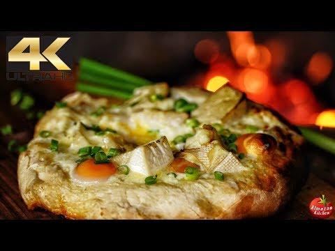 Ultimate Khachapuri Pizza 4K - ASMR Cooking