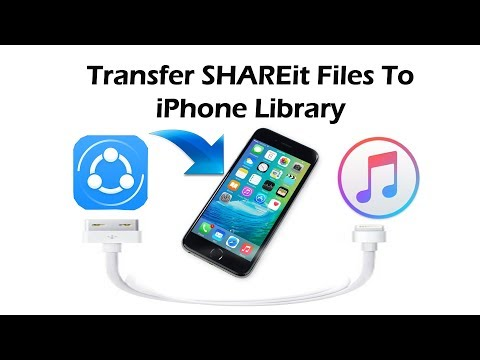 How To Send Files from SHAREit App To your IPhone Storage