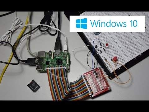 Use GPIO Controller with VB.NET - Raspberry Pi 2 IoT Windows 10 - Blink Example