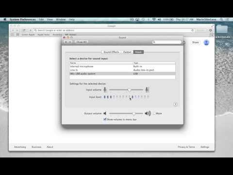 Mic Fixes on Mac; Mic Sensitivity