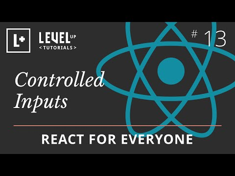 React For Everyone #13 - Controlled Inputs