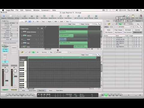Logic Pro 9 Tutorial - Produce Dance Music With Logic Pro 9 - User Interface