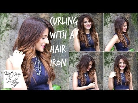 How to: Curl Perfectly With A Hair Straightener  Add Volume
