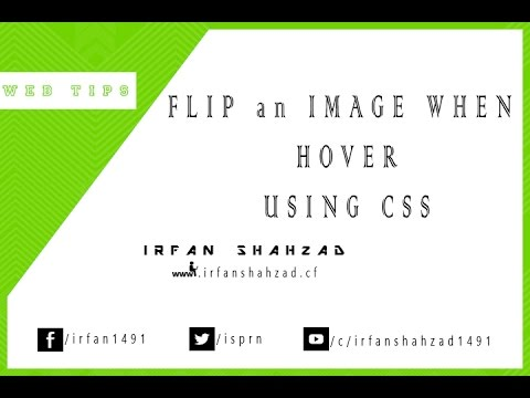 Flip an Image when hover using CSS