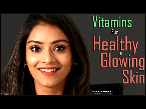 Vitamins For Healthy & Glowing Skin | Best Vitamins For Skincare | Skincare Routine | Foxy Makeup