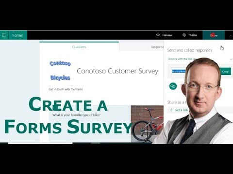 Create a Survey in Microsoft Forms