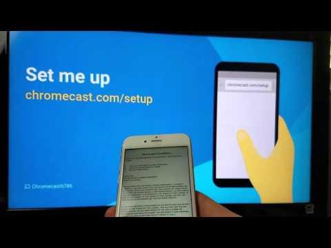 Chromecast & iPhone/ iPad: How to Setup to HDTV