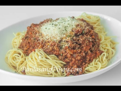 How to Make Spaghetti with Meat Sauce