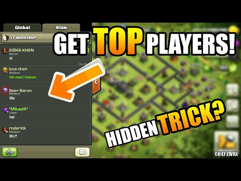 🔝HOW TO GET TITAN AND LEGENDS PLAYERS TO YOUR CLAN! | ONE MIN TRICK!|GET TOP PLAYERS TO CLAN|CZ|