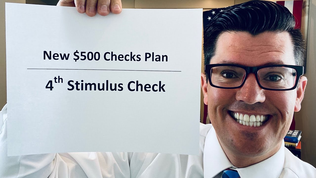 $500 Check Proposal | Fourth Stimulus Check Update | Sanders Says DO $6 Trillion Deal To Schumer