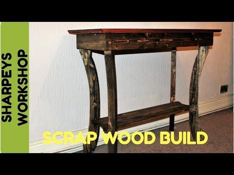 Pallet Wood Hall Table
