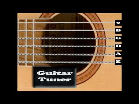 Standard Acoustic Guitar Tuner ( Interactive! )