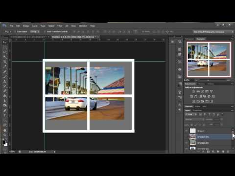 How To Make A Photo Collage In Photoshop Short Version