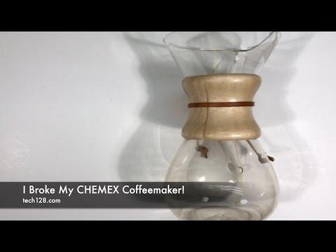 I Broke My CHEMEX Coffeemaker!