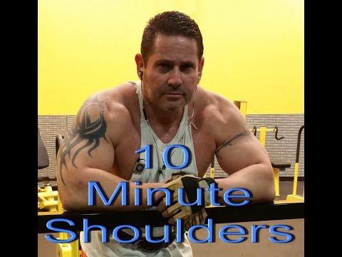10 Minute Shoulder Work Out