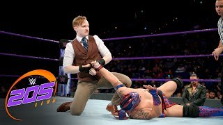 Kalisto vs. Gentleman Jack Gallagher: WWE 205 Live, Nov. 28, 2017