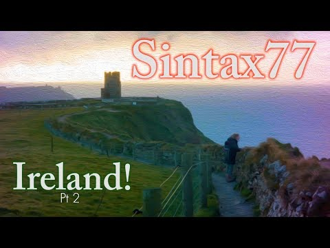 Sara Goes to Ireland! - Pt 2 Cliffs of Moher & Castle Ruins