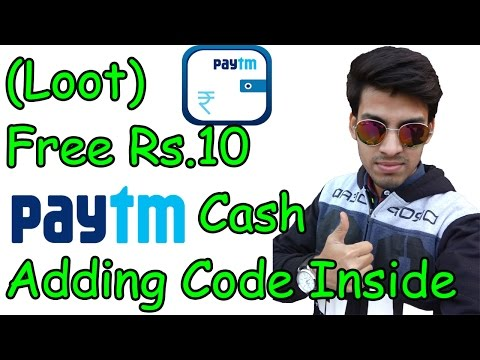 Paytm New User offers : Get Rs 10 in wallet [Exceeded Max Number Of Tries Solution Added]