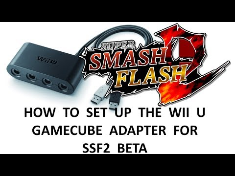 HOW TO CONNECT WII U ADAPTER TO SSF2 BETA