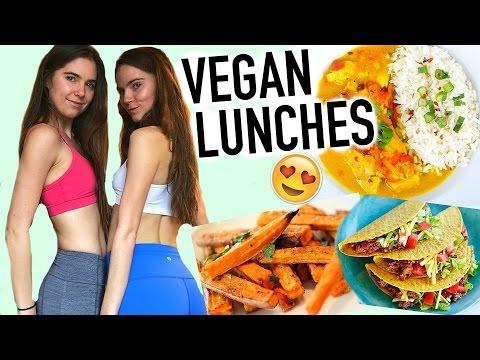 VEGAN LUNCH IDEAS - Easy & Healthy - Nina and Randa