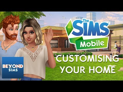 CUSTOMISING YOUR HOME TUTORIAL | The Sims Mobile