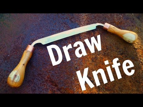 Making a Draw Knife from a old leaf spring
