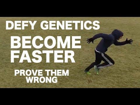 How to run faster | How to get faster | How to run fast or sprint faster for soccer / football